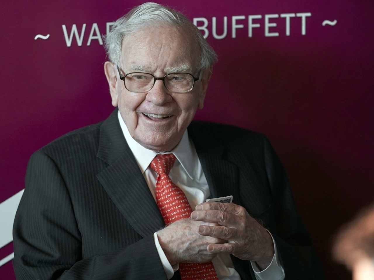 Warren Buffett will be spending several hours answering questions at an online version of Berkshire's annual meeting. File photo: AP
