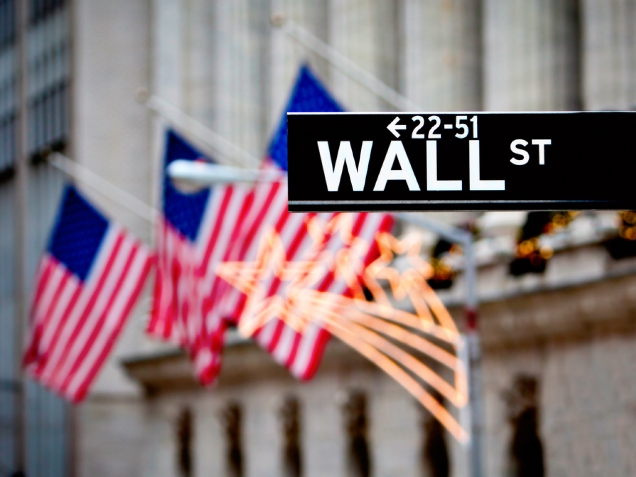 Wall Street enjoyed a relatively strong session amid an upbeat earnings season. File image: Shutterstock