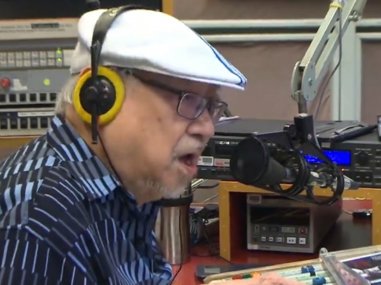 Uncle Ray thanked his listeners, fans and friends for their enduring support. File photo: RTHK