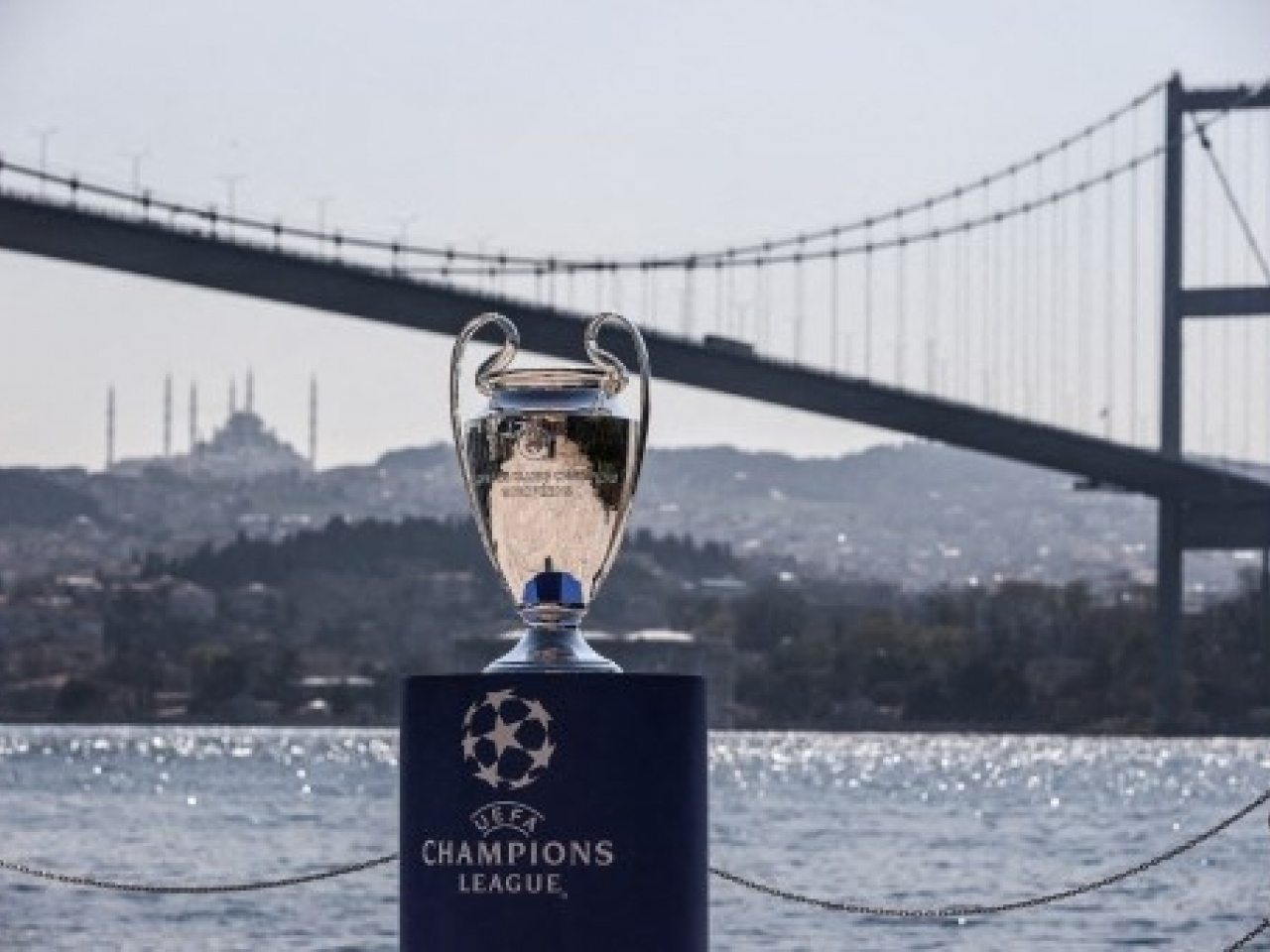 Istanbul is due to host the Champions League final on May 29. Photo: AFP