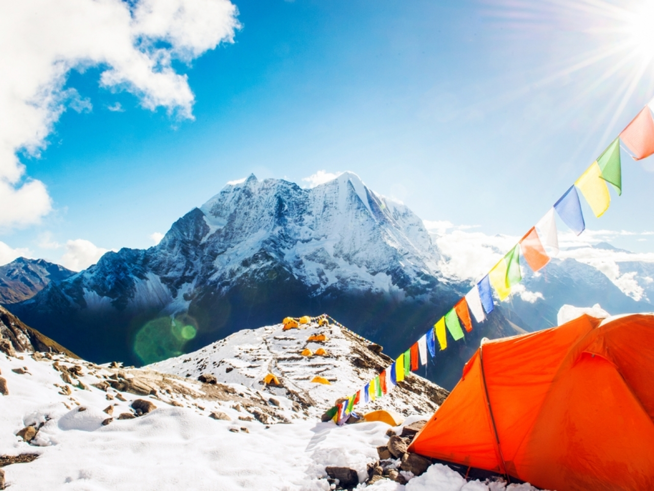 State media reports that the move comes after dozens were taken ill from the summit's base camp. Image: Shutterstock