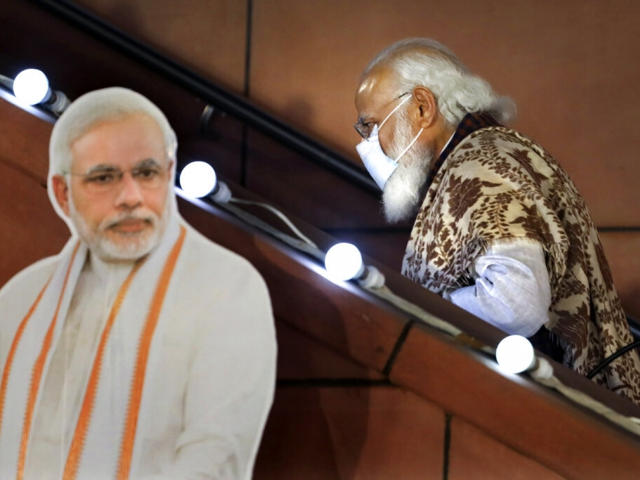 Indian leader Narendra Modi says he will not be joining an in-person summit of G7 leaders next month. File photo: AP