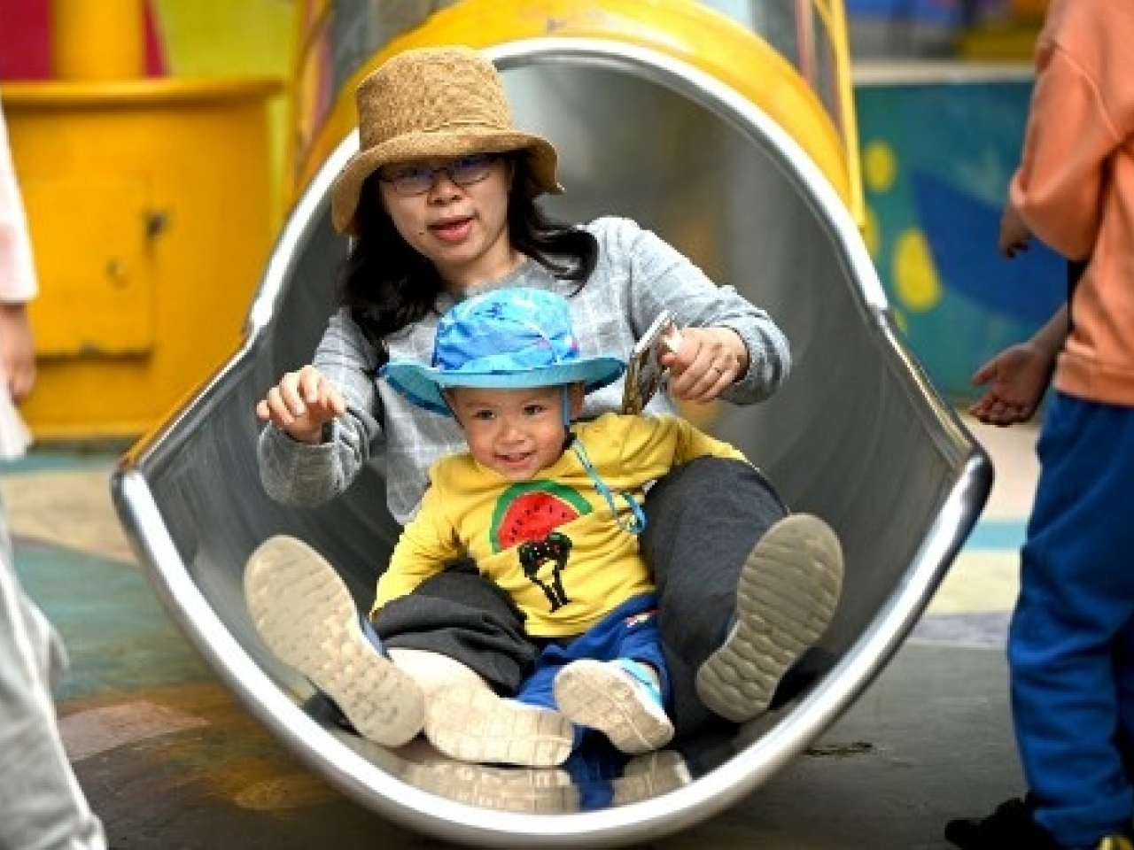 The soaring costs of raising children on the mainland has led to the slowest population growth in decades. Photo: AFP