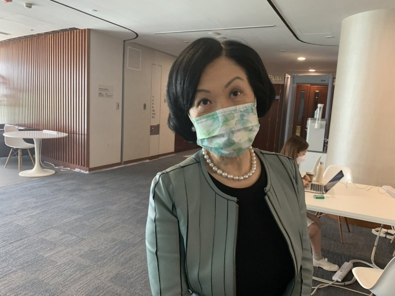 Regina Ip says the government should be able to make its own decision over whether to donate some of its Covid jabs to countries in need. Photo: RTHK