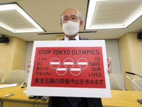 Calls grow in Japan for Olympics to be scrapped