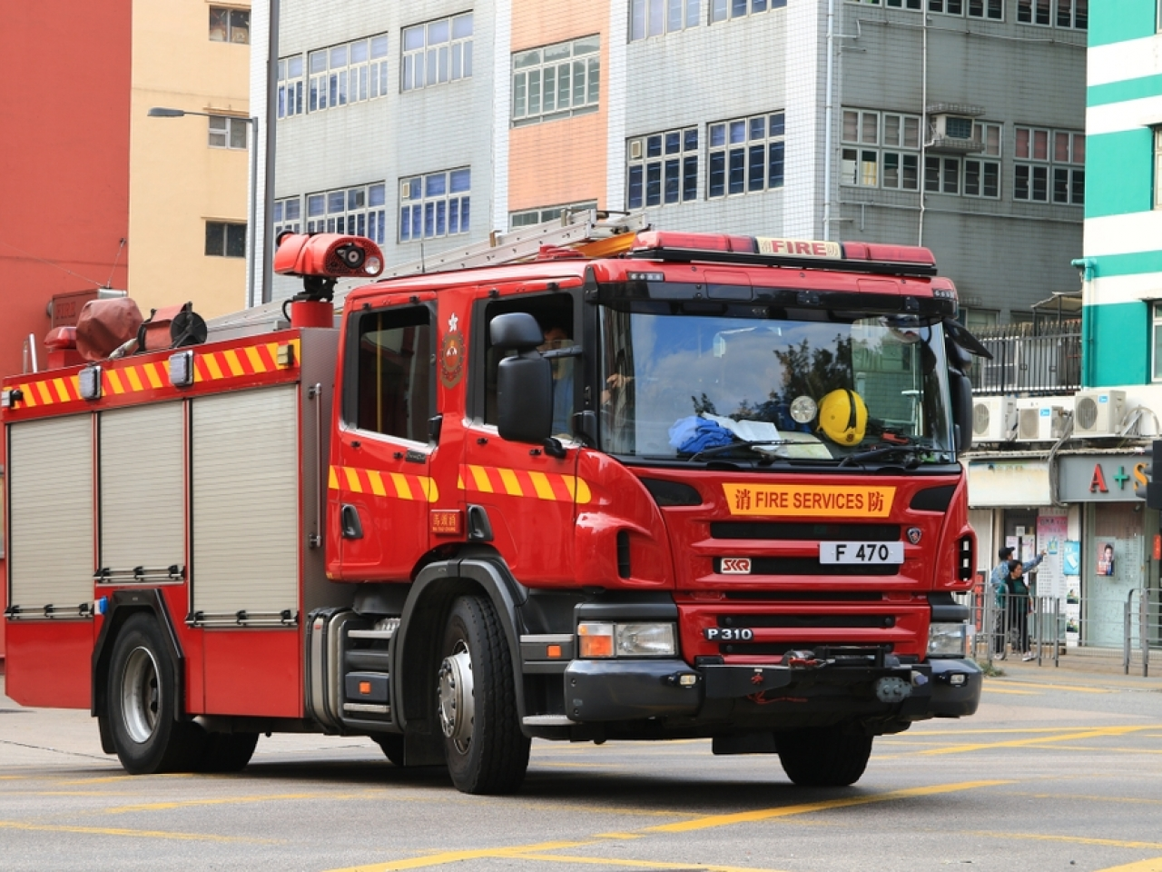 The fire commander on the ground told the Coroner's Court that metal railings prevented them from putting an air cushion closer to where Marco Leung was standing. Image: Shutterstock