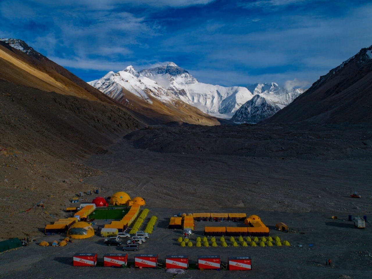 Several climbers have reported testing positive for the coronavirus after they were brought down from the Everest base camp. Photo: AP