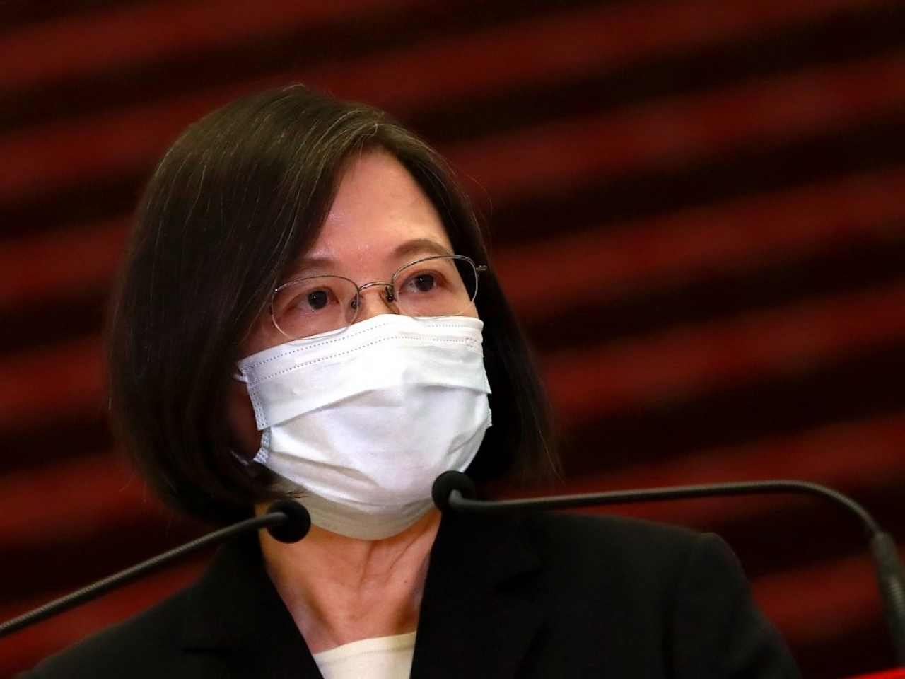 Tsai Ing-wen says Beijing's intervention has stopped Taiwan getting BioNTech jabs. Photo: AFP