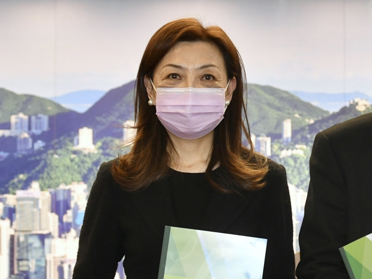 Priscilla Wong will succeed Anthony Neoh as head of the IPCC from June 1. Photo courtesy of the Information Services Department.