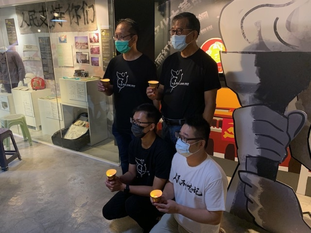 Organisers say they see nothing wrong with the museum and have pandemic measures in place. Photo: RTHK