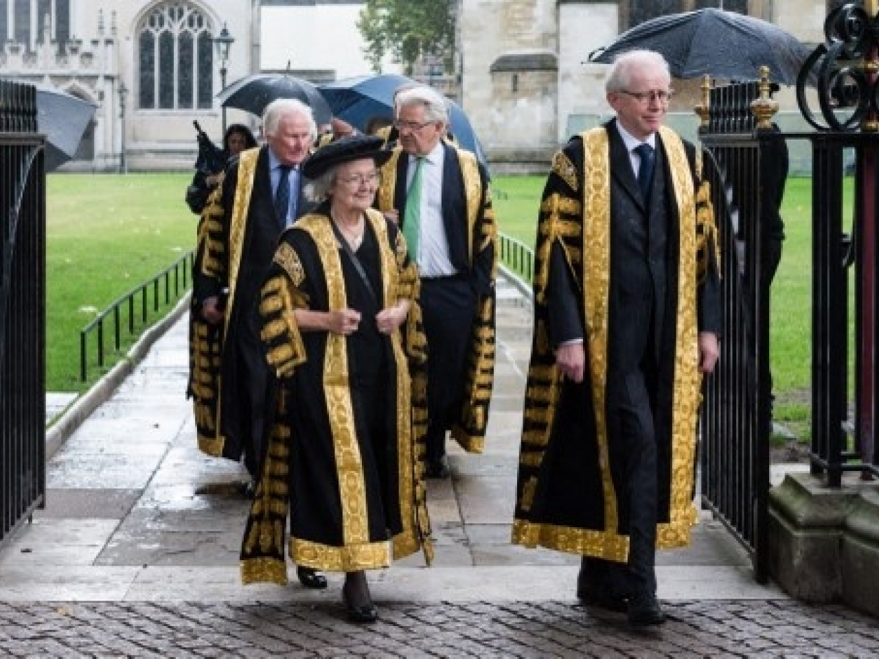 Lady Hale's term as an overseas judge on the CFA will end in July, and she reportedly told an online conference: 'I don't wish to be reappointed'. File photo: AFP
