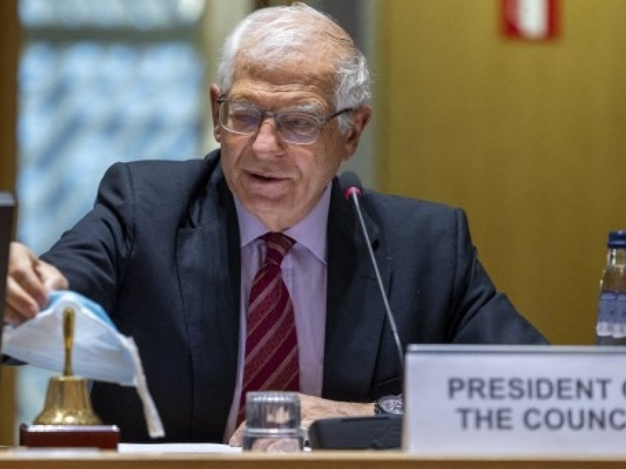 The EU said it would intensify its response in a statement released through the bloc's top diplomat Josep Borrell. Photo: AFP