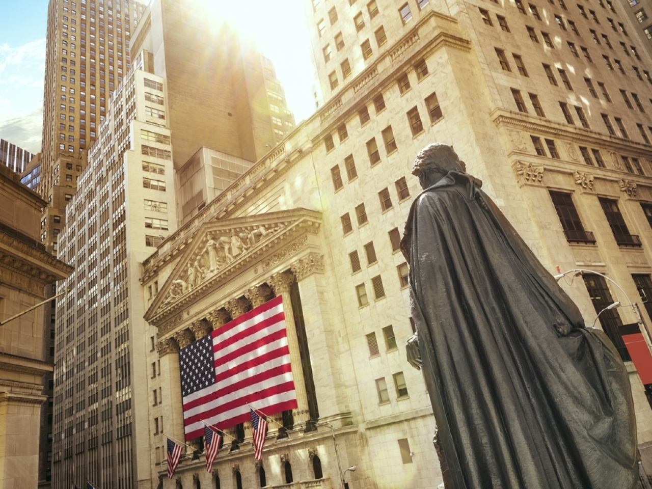 Inflation uncertainty has left Wall Street largely flat through the week. File image: Shutterstock