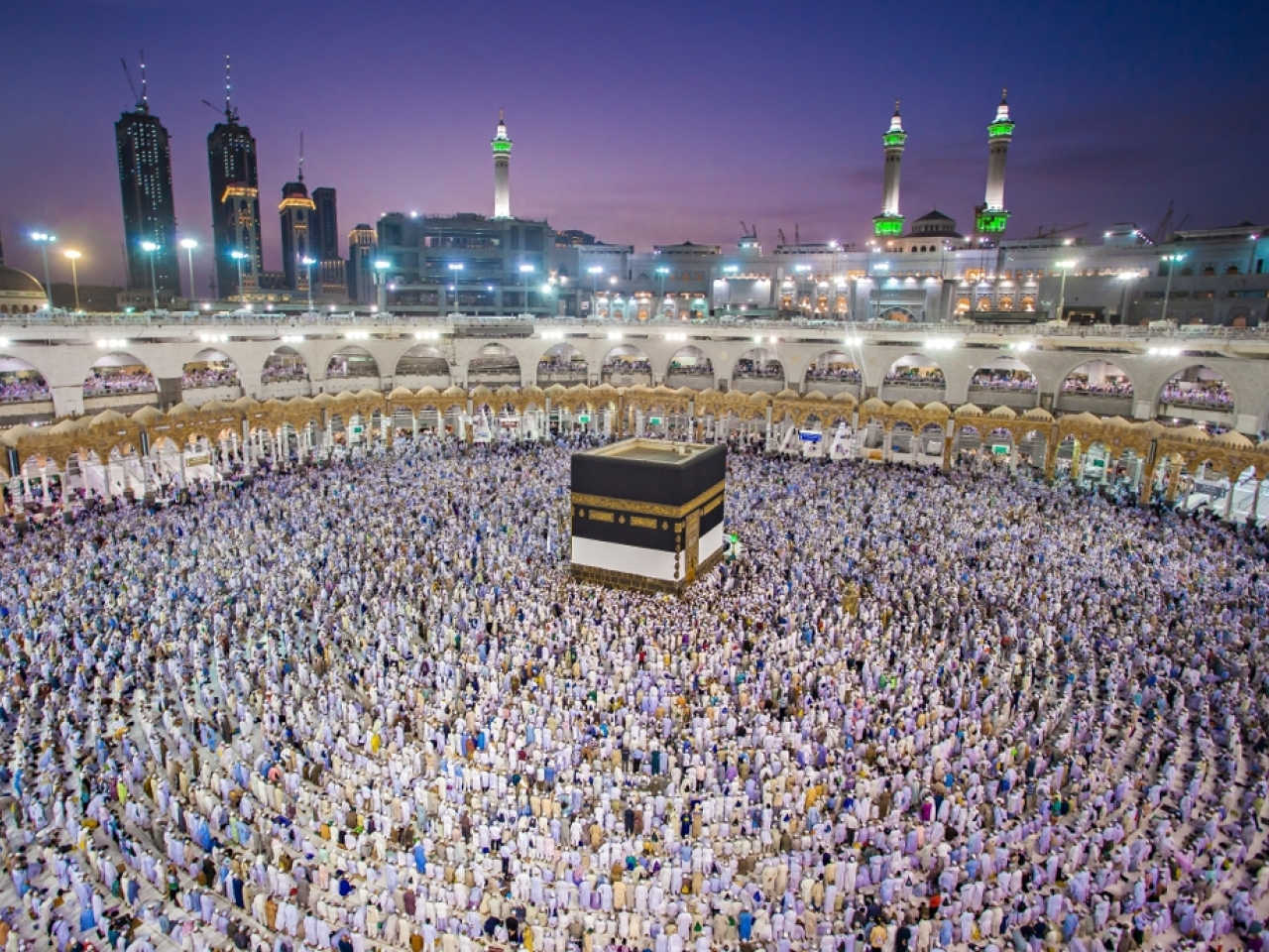 Muslims attend the haji in Mecca in 2018. The pilgrimage is considered a must for able-bodied Muslims at least once in their lives. File image: Shutterstock