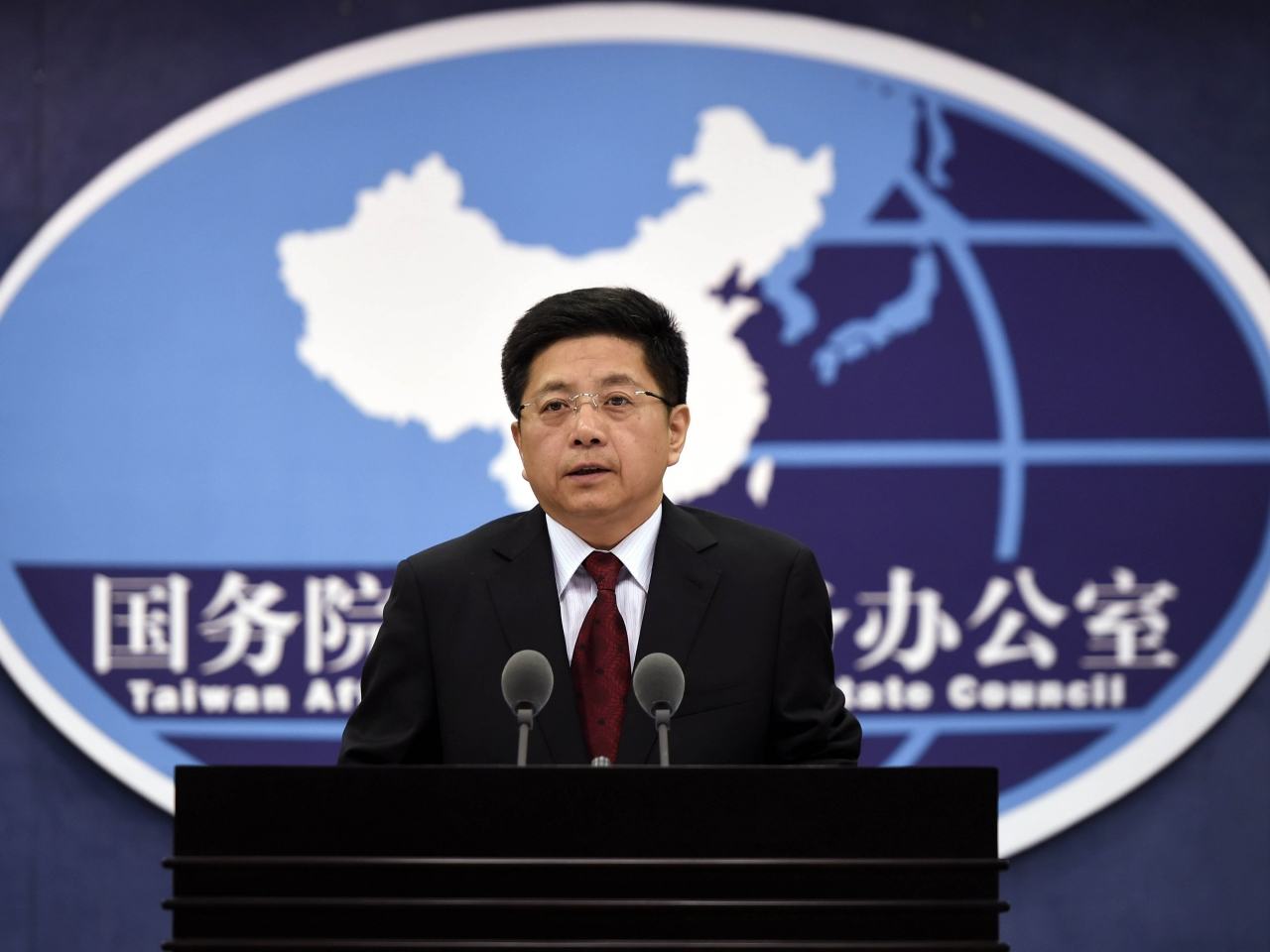 """Ma Xiaoguang expressed """"firm support"""" for the Hong Kong government's policies towards Taiwan. Photo: Xinhua"""