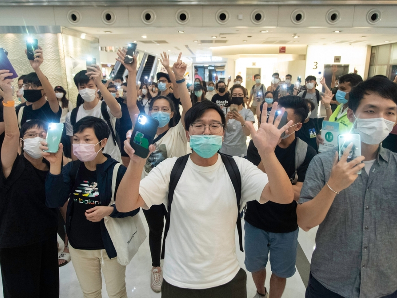 The index noted that the national security law and the government response to the pandemic had significantly impacted human rights in Hong Kong. Image: Shutterstock
