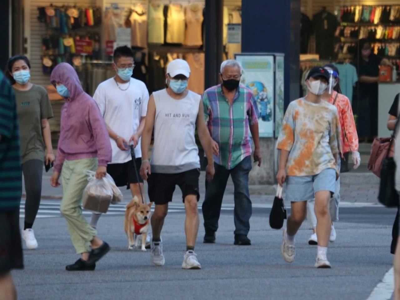Taiwan has reported 104 new domestic infections on Wednesday, up from 78 the day before. File photo: AP