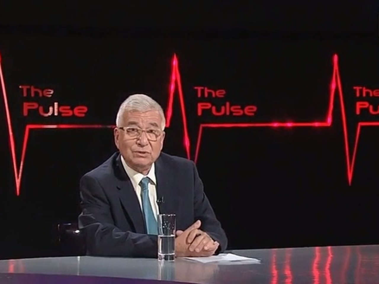 Steve Vines also hosts RTHK's English-language political TV programme, The Pulse, which airs its final episode on Friday before taking a summer break. He is unable to say whether the programme will return. File photo: RTHK