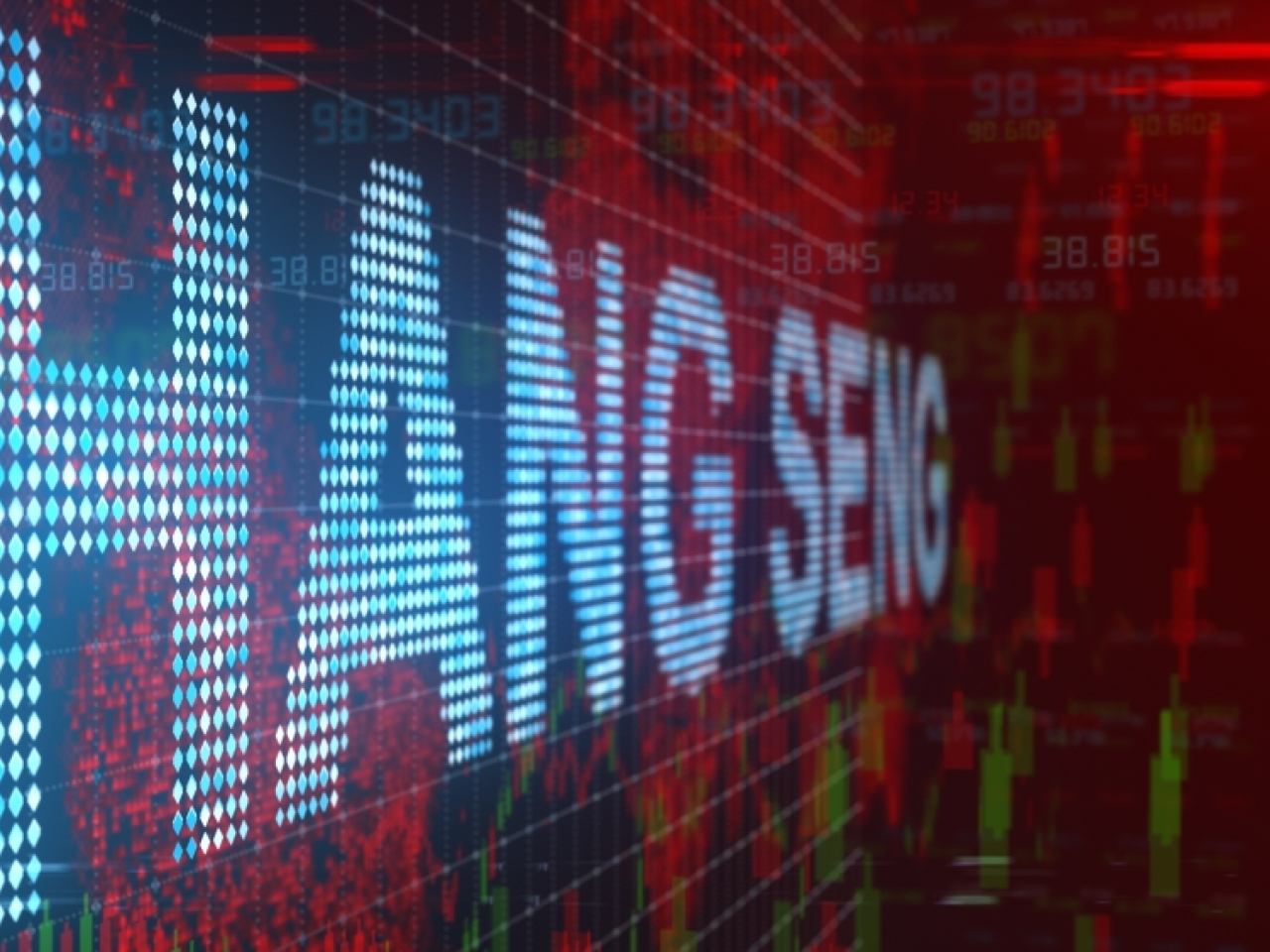 The Hang Seng Index finished 34 points lower at 27,224. Image: Shutterstock