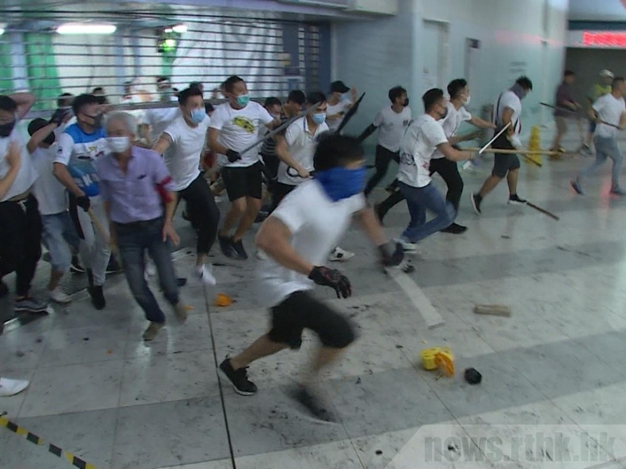 The judge had said the attackers seemed to have lost their minds. File photo: RTHK