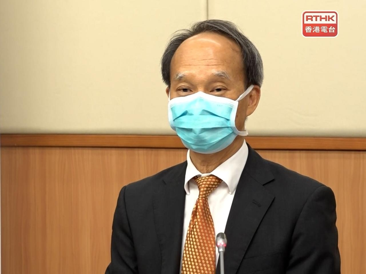 Lau Yu-lung says it's too early to decide whether to offer people a third dose of the Covid vaccine. Photo: RTHK