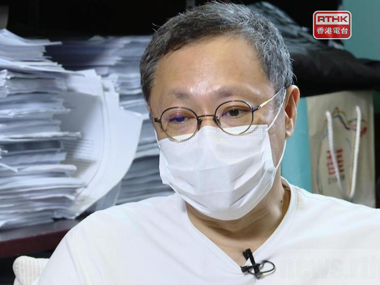 Benny Tai is among three people accused of violating election laws over the 2016 Legco polls. File photo: RTHK
