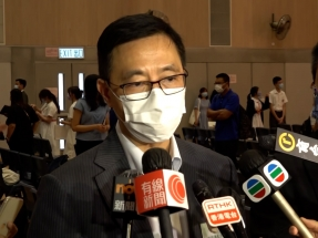 HKBU right to put on security course: Kevin Yeung