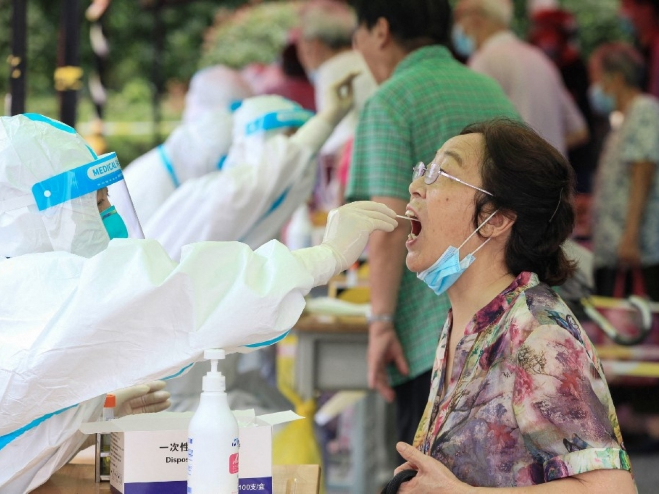 The flare up in cases has seen 171 cases detected in Jiangsu province, with infections spreading to at least four other provinces. Photo: AFP