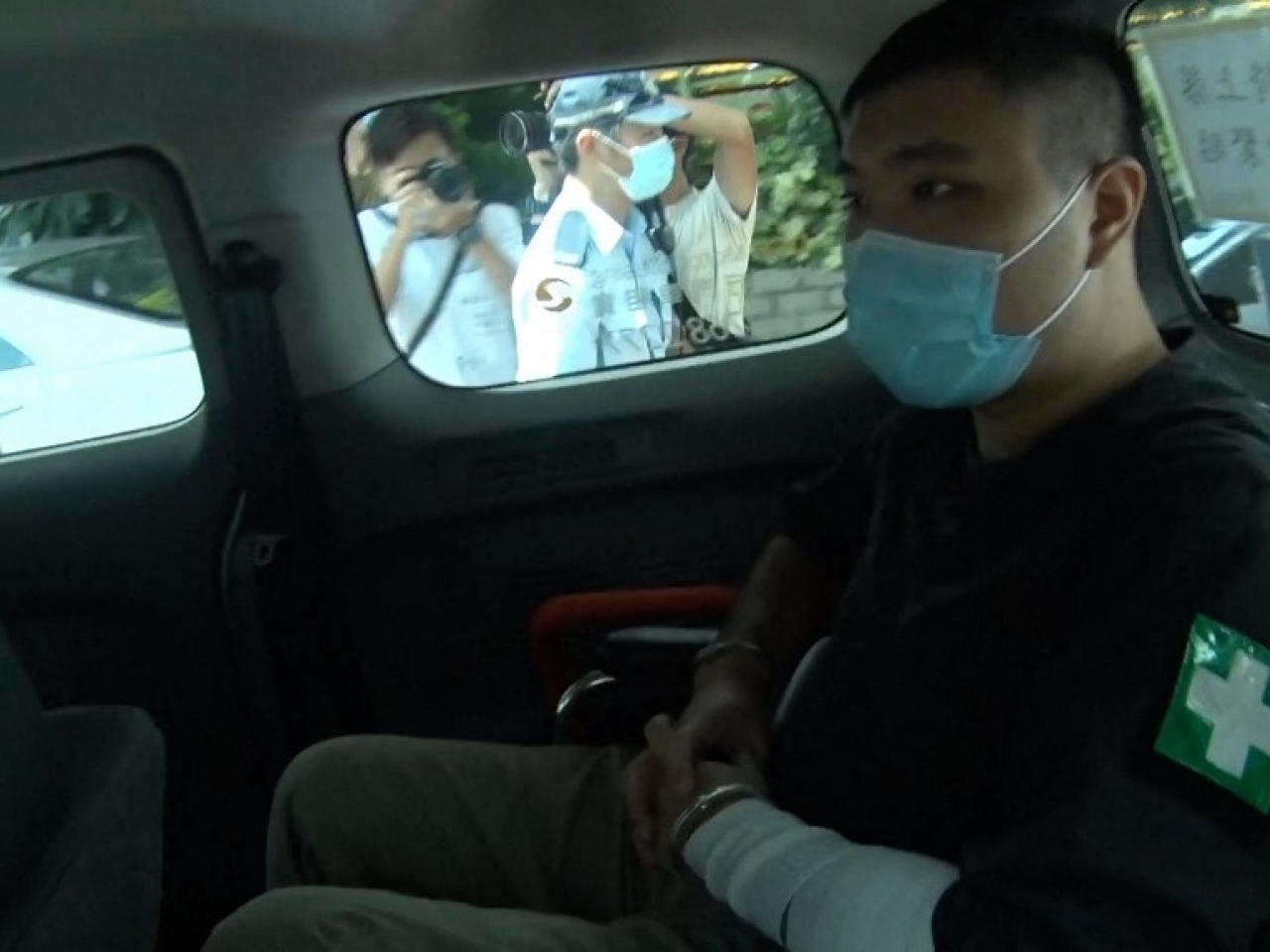 Tong Ying-kit was on Tuesday convicted of terrorism and inciting secession. File photo: AFP