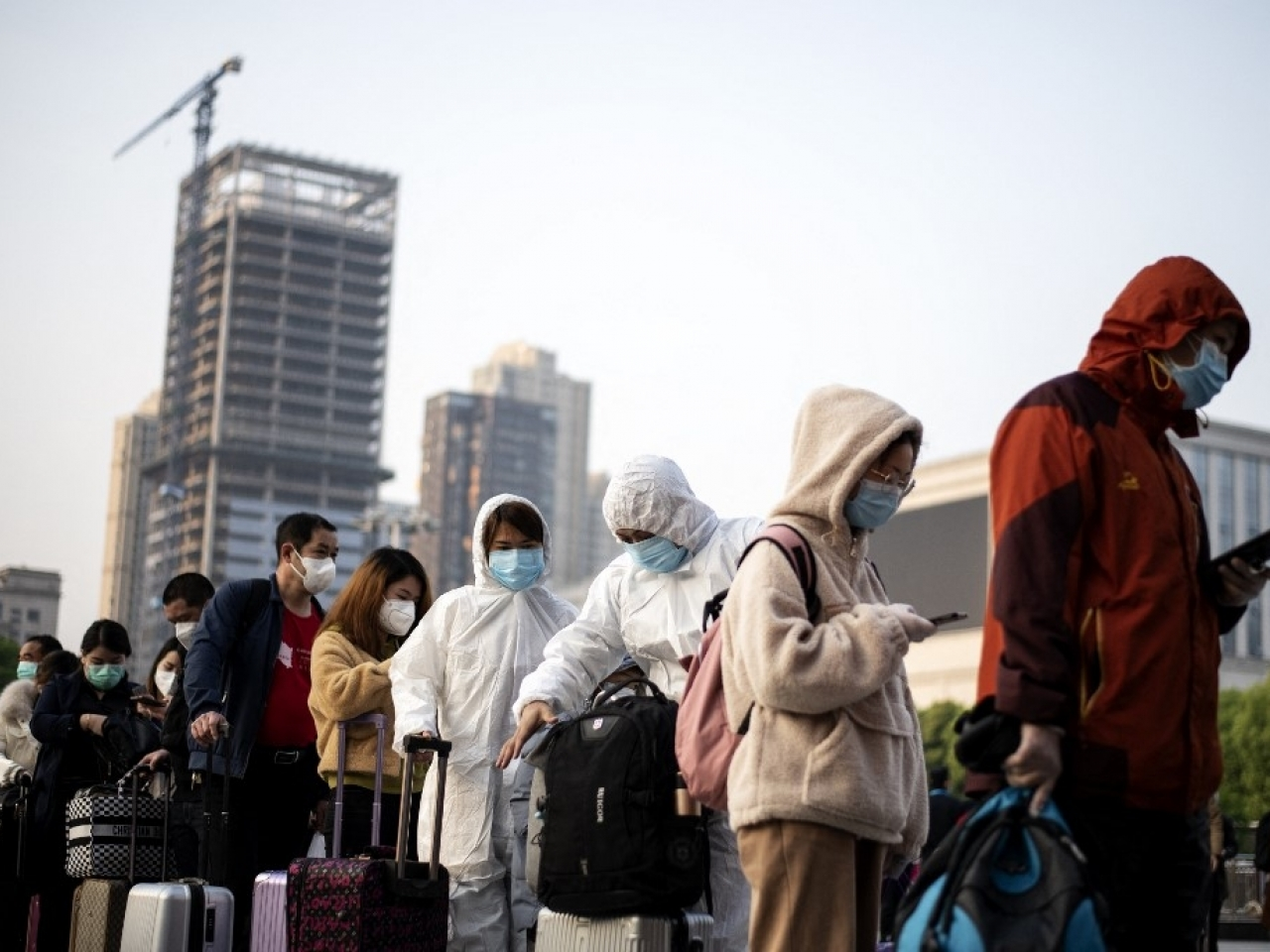 Wuhan officials announced on Monday that seven locally transmitted infections had been found  in the city. File photo: AFP