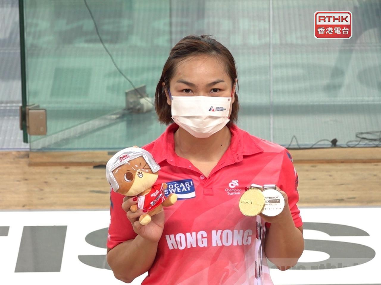 Sarah Lee needed a strong performance in the repechage race to make it to the quarterfinals. File photo: RTHK
