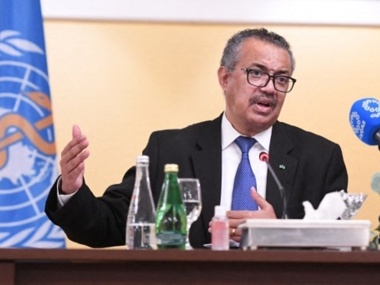 WHO chief Tedros Adhanom Ghebreyesus had said more vaccines should go to poorer countries before boosters are given. Photo: AFP