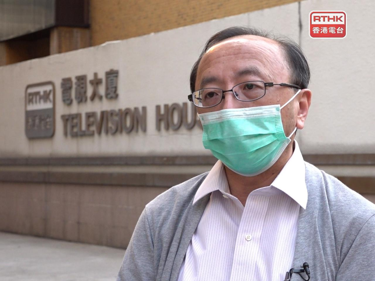 Eric Cheung expressed sadness that the students were 'stripped of their rights to be students'. File photo: RTHK