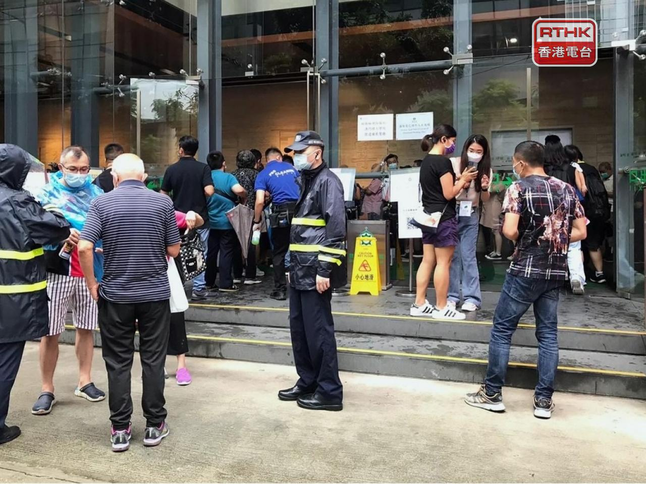 Macau residents have been ordered to get Covid tests after a cluster of cases involving one family. Photo: RTHK