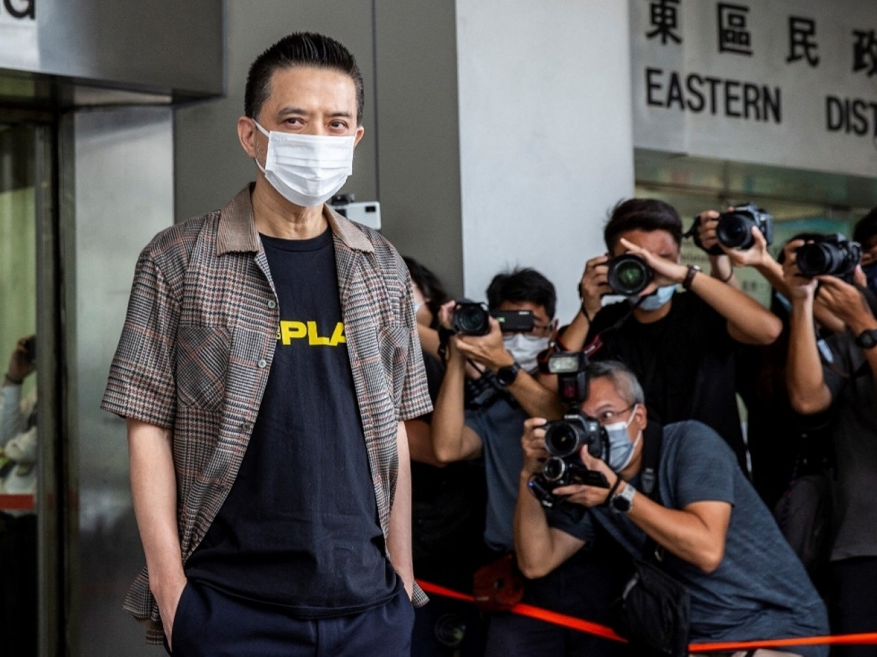 Singer Anthony Wong has been bound over for 18 months. Photo: AFP