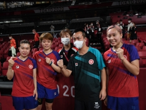 'Table tennis medal shows transformation of HK team'