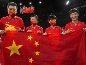 China's domination of table tennis almost absolute
