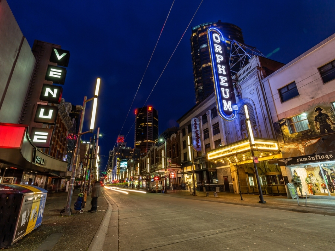 The restaurants and clubs of downtown Vancouver will be off limits to people who haven't had at least one vaccine dose, provincial authorities have ruled. File image: Shutterstock