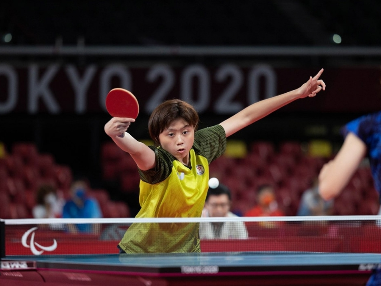 Wong Ting-ting in action in Tokyo. Photo: Hong Kong Paralympic Committee