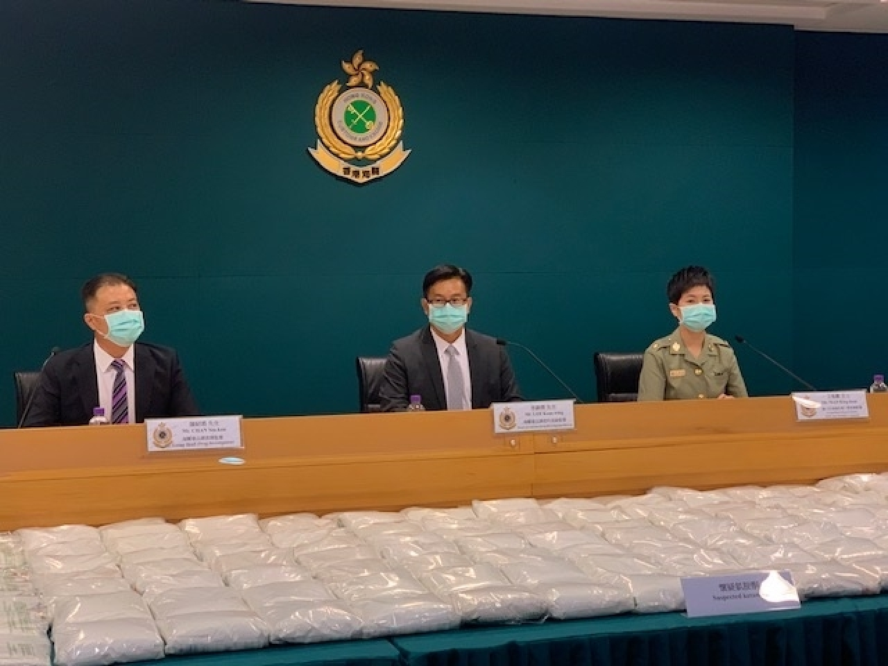 Customs officials say drug traffickers have increasingly opted for sea routes because of the pandemic. Photo: RTHK