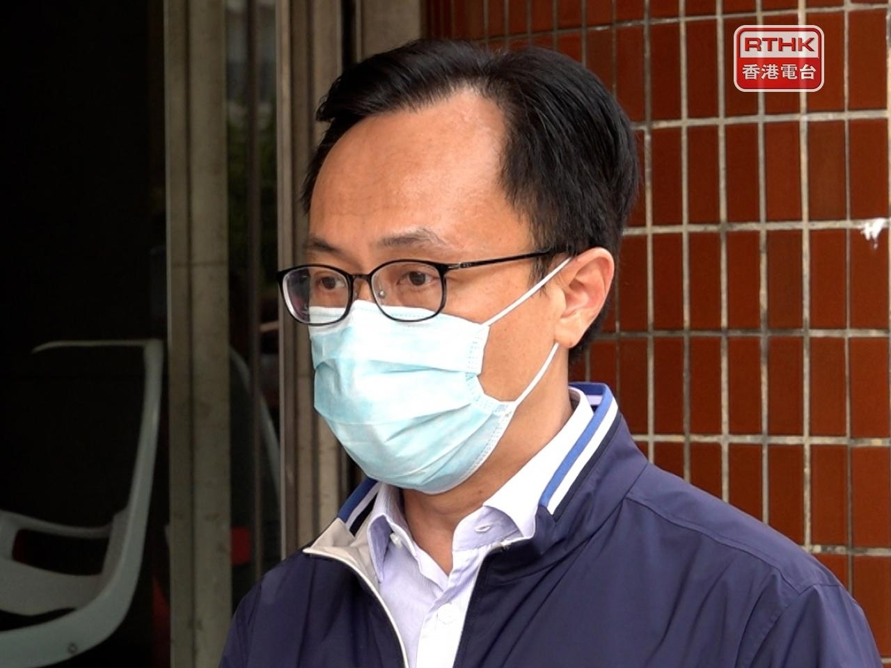 Patrick Nip says the government will deploy outreach workers to boost vaccine take-up among the elderly. Photo: RTHK