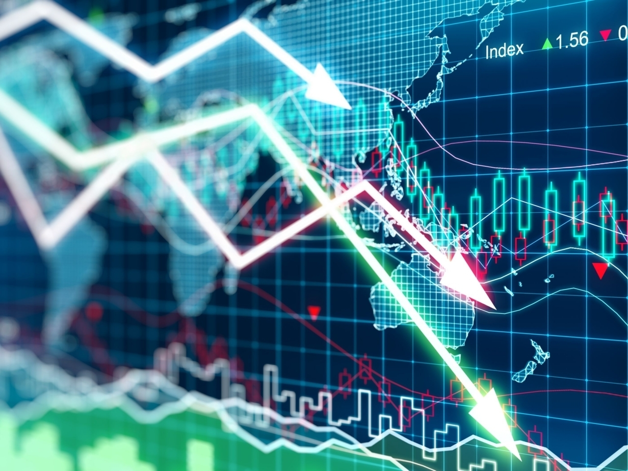The Hang Seng Index fell 1.5 percent, or 392 points, to 25,813. Image: Shutterstock