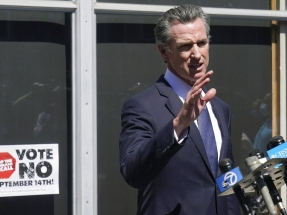 California governor defeats recall, stays in power