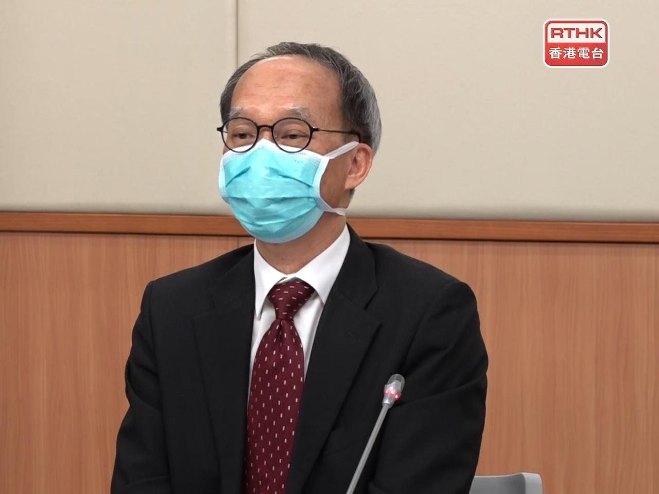 Government advisor Lau Yu-lung says the new advice strikes a balance between the vaccine's risks and benefits. File photo: RTHK