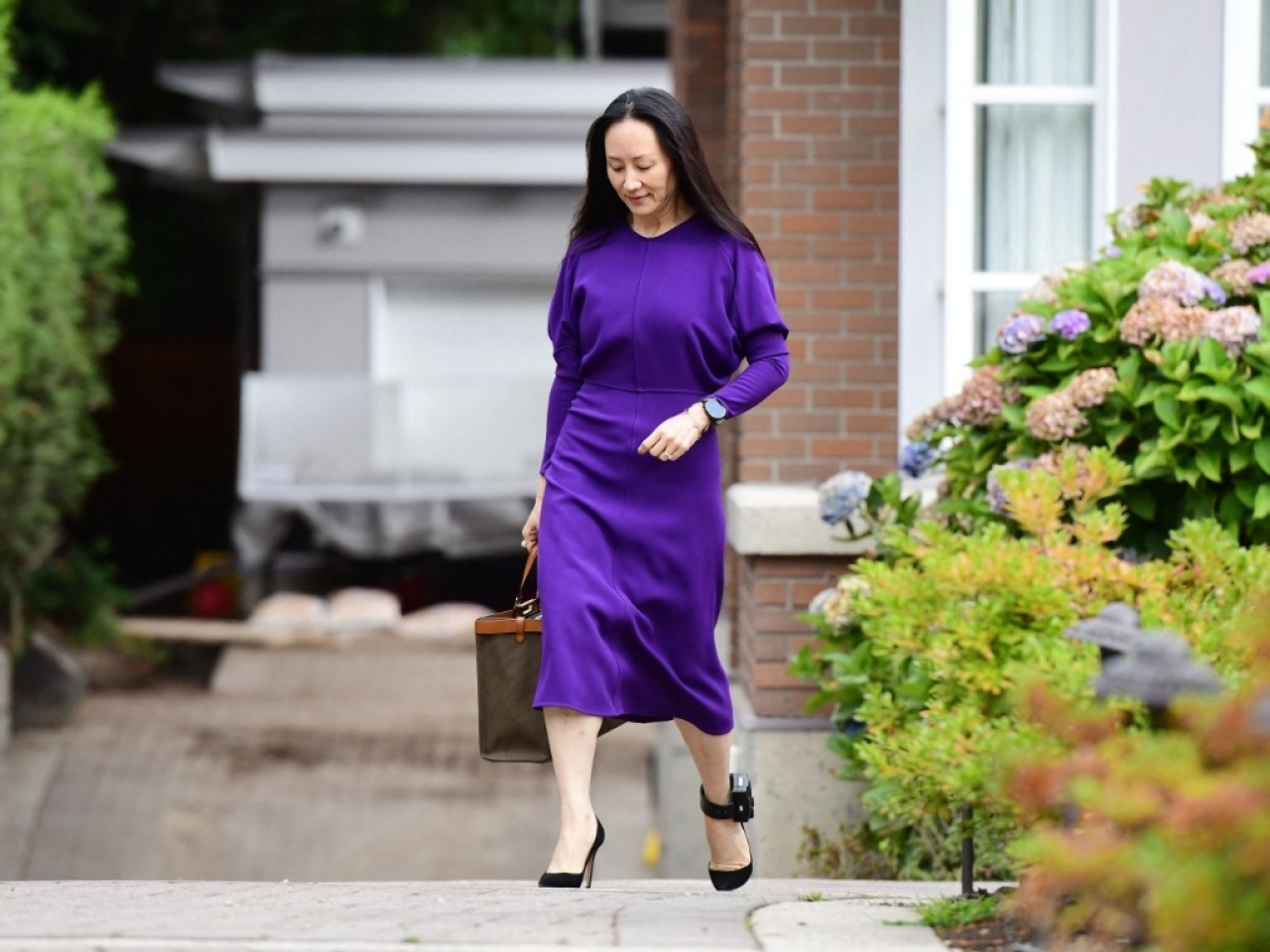 A report says the United States is prepared to end an extradition request against Meng Wanzhou if she pleads guilty and pays a hefty fine. File photo: AFP
