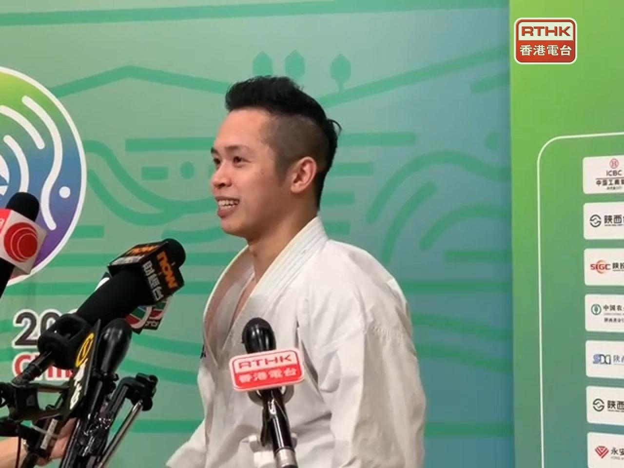 Lau Chi-ming takes bronze medal in karate