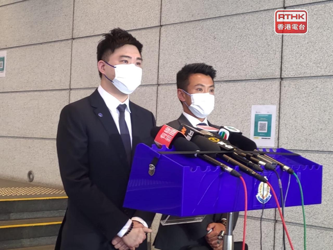 The police made the arrest on Monday and seized two mobile phones. Photo: RTHK