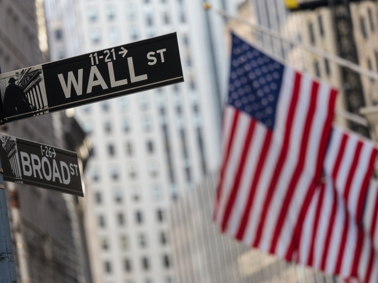 Wall Street ended the week up after a flat Friday. File image: Shutterstock