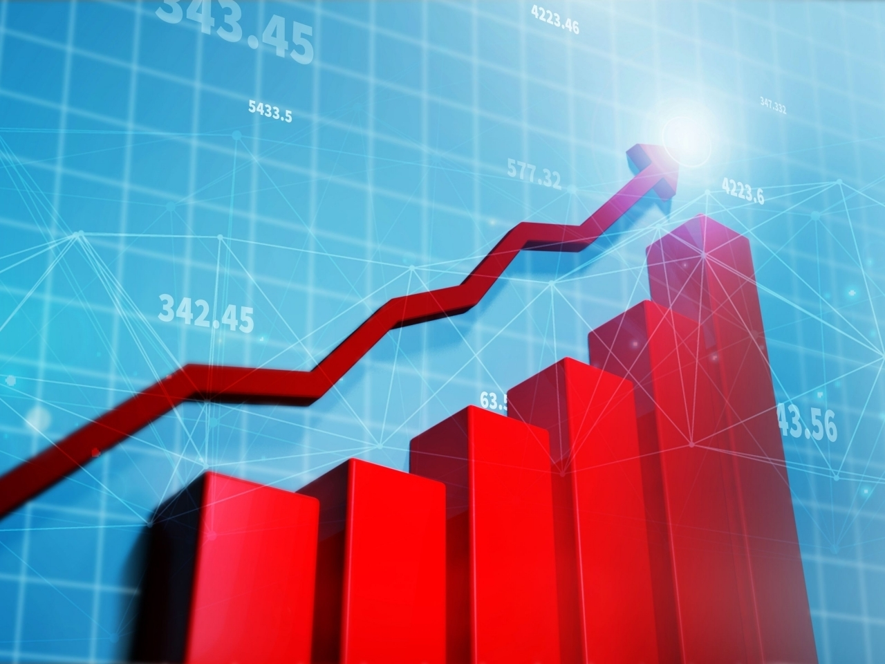The Hang Seng Index opens the week with gains. Image: Shutterstock