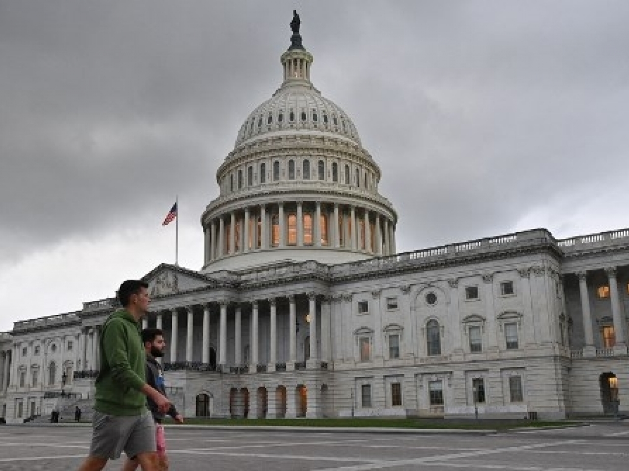House passage warded off concerns that the United States - the world's largest economy - would go into default for the first time. Photo: AFP
